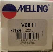 2 Engine Exhaust Valve-Stock Melling V0811 AD