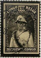 Belgian Congo #158 Used 1934 King Albert Memorial Issue