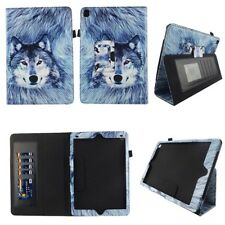 Tablet Case For Apple iPad Air Folio Book Style Stand Leather Card ID Slots