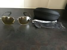Police Sunglasses Rival 1 S8952 581G Matt Silver Black Yellow With Case & Cloth
