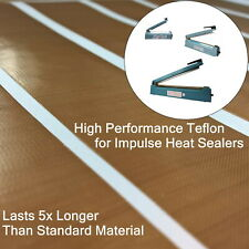 High Performance Teflon Tape Strips for 200mm Heat Sealers (non-adhesive)