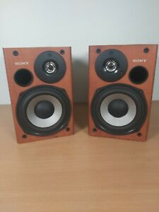 Set of SONY SS-CCPX11 Bookshelf Speakers - Tested and Working