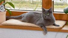 Kerbl Fensterliege Katzenbett Fensterliegekissen Fensterbank Liegekissen Katze