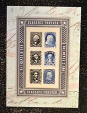 2016USA #5079a-f Forever - Classics - Souvenir Sheet of 6  Mint NH classic era
