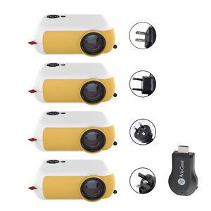 1800LM Portable Heimkino-Beamer 1080P Home Theater HDMI/USB/SD Card/Laptops S