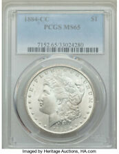 1884 CC Morgan Silver Dollar **PCGS MS 65** 3 DAY AUCTION GEM Original Coin! $1