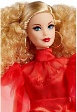 75th Anniversary Barbie Doll Blonde GMM98 Mattel 2020 NRFB New!