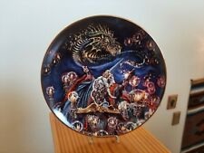 New listing Dragon Summoning Wizard Myles Pinkney Royal Doulton England Collectors Plate