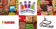 Kingsway Pick & Mix RETRO SWEETS CANDY Wedding Favours Kids Treats Party Haribo