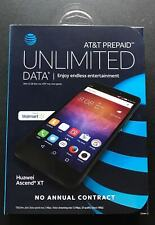 AT&T prepaid unlimited Data*  huawei Ascend XT