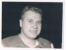 Original Quebec Aces Hockey Gerry McNeil Photo