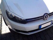 Für VW Golf 6 Scheinwerfer Blenden Spoiler Böser Blick Scheinwerferblenden ABE