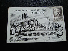 FRANCE - carte 1er jour 6/3/1948 (journee du timbre) (cy54) french