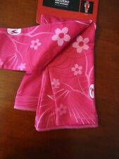 SUGOI Arm Warmer Sonic Custom Unisex Large Pink Thermal Bike Run Wicks