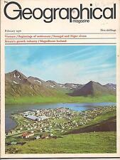the geographical magazine-FEB 1970-MAGNIFICENT ICELAND.