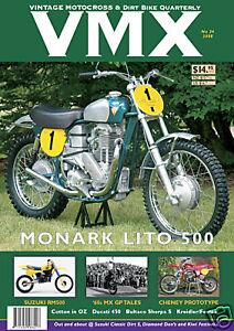 VMX Vintage MX & Dirt Bike AHRMA Magazine - Issue #34