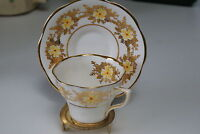 CLARE BONE CHINA CUP & SAUCER made in England