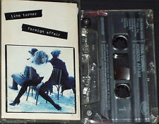 TINA TURNER FOREIGN AFFAIR CASSETTE ALBUM 12 TRACKS UK ISSUE