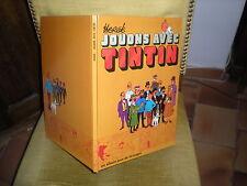 JOUONS AVEC TINTIN - EDITION SEPTEMBRE 1991 CARTONNEE - ALBUM JEUX 64 PAGES