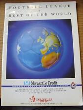08/08/1987 Football League v Rest Of The World & England U16 v Denmark U16 [At W