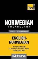 NEW Norwegian vocabulary for English speakers - 5000 words by Andrey Taranov