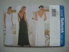 Butterick Sewing Pattern 5419 - Misses Lined Evening Dress - Sizes 12-16
