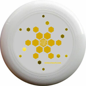 DISCRAFT ULTRA STAR 175G HIVEULTIMATE ULTIMATE FLYING DISC FRISBEE - WHITE