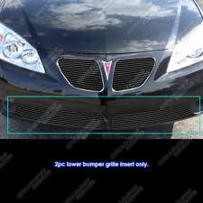 For 2005-2008 Pontiac G6 Lower Bumper Black Billet Grille Insert
