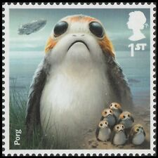 GB 4010 Star Wars Porg single (1 stamp) MNH 2017