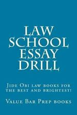Law School Essay Drill : Jide Obi Law Books for the Best and Brightest! by...