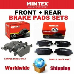 MINTEX FRONT + REAR Axle BRAKE PADS SET for VOLVO XC60 D4 AWD 2013-2015