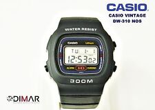 VINTAGE CASIO DW-310 AKA HD, FUNCION REM,  QW.690, JAPAN  300M, AÑO 1982