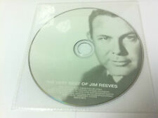 The Very Best of Jim Reeves Music CD Album 2009 - DISC ONLY in Plastic Sleeve