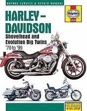 1970-1999 Harley Shovelhead Repair Service Workshop Manual Book Guide 21731