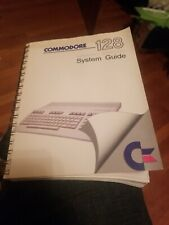 COMMODORE 128 PERSONAL COMPUTER SYSTEM GUIDE 1985. FREE SHIPPING