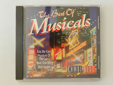 CD The Best of Musicals Kiss me Kate Phantom of the opera West Side Story