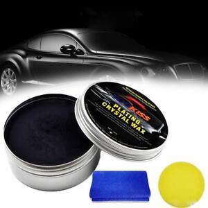200g Car Wax Crystal Plating Set Hard Glossy Carnauba Wax New Care Paint Coating
