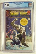 CGC 5.0 VG/FINE-WHITE PAGES 1977 DC Special Series - Swamp Thing Saga #1