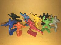 DC JUSTICE LEAGUE toy FLIXSTARS lot SUPERMAN wonder woman BATMAN aquaman FLASH