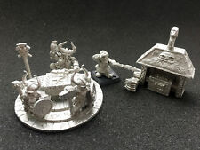 GAMES  WORKSHOP WARHAMMER DWARF ANVIL OF DOOM THOREK IRONBROW DWARVES METAL