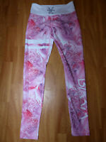 Neue Bara Sportswear Damen Fitnesshose Tights Leggings Gr M Pink Trainingshose