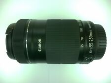 Canon EF-S 55-250mm IS STM Lens Macro 0.85m / 2.8 ft for EOS APS-C DSLR Camera