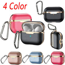 PU Leather Bluetooth Headphone Protective Cover Storage Case for Airpods Pro New