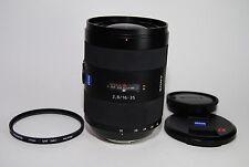 Sony 16-35mm F2.8 Vario Sonnar T ZA SSM Alpha Mount Auto Focus lens
