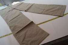 Lacoste Femmes loisirs pantalon stretch strech taille 44 beige top #56