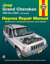 Haynes 50025 Service Repair Manual Jeep Grand Cherokee 1993 thru 2004 All Models