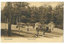"""Vintage Postcard """"Stockholm. Haga Grindar."""""""