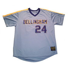 Bellingham Mariners Customized Baseball Jersey Ken Griffey Jr Edgar Martinez