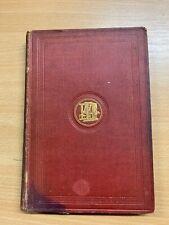 "c1890 GEORGE ELIOT ""SILAS MARNER"" FICTION ANTIQUE HARDBACK BOOK (P3)"