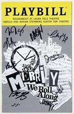 Full Cast MERRILY WE ROLL ALONG Off-Broadway 2019 Playbill